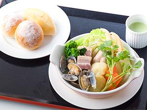 アサリとタケノコと旬菜の春ポトフ